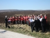 Filming for BBC Look North on Howarth Moor 2012